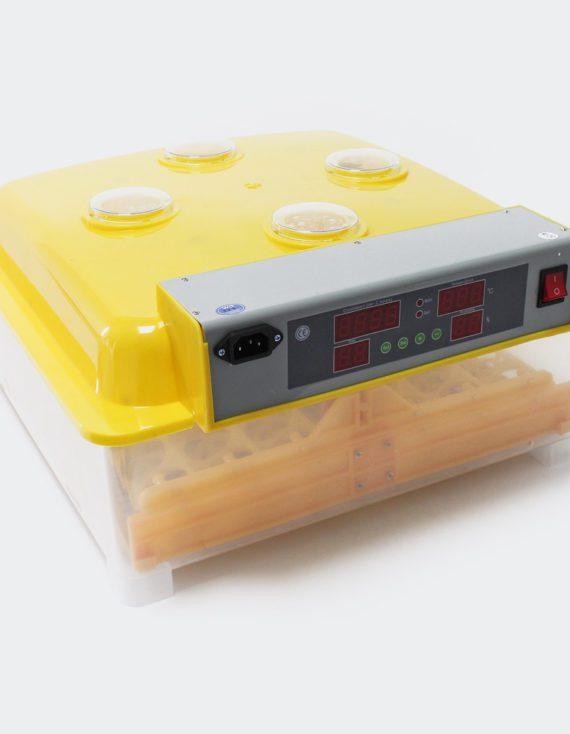 Plně automatický Inkubátor líheň na 48 vajec pruhledná