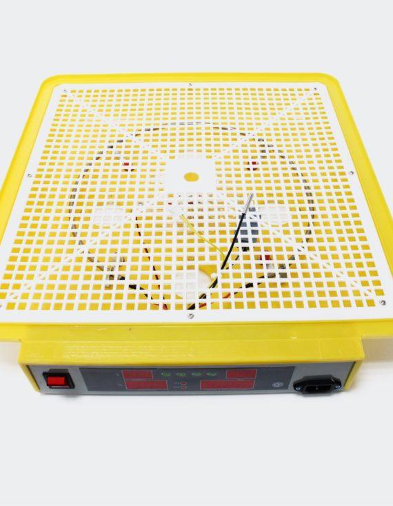 Plně automatický Inkubátor líheň na 96 vajec průhledná