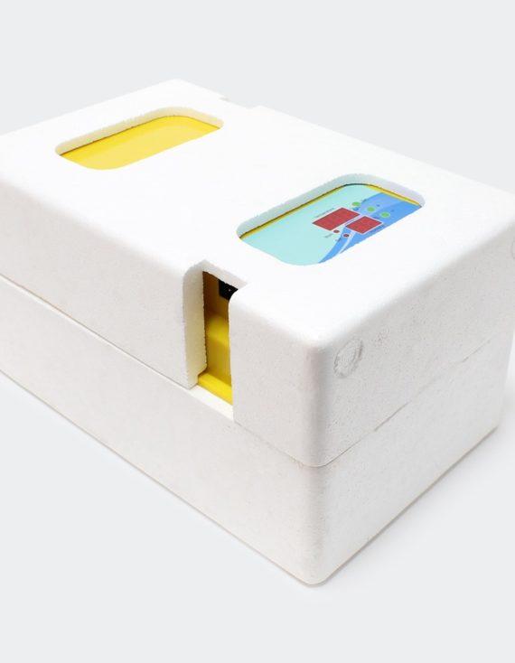 Plně automatický Inkubátor líheň na 12 vajec