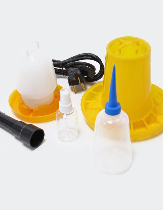 Plně automatický Inkubátor líheň na 48 vajec sledováníchoken